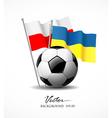 European Football 2012 vector image