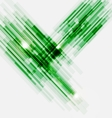 Green abstract straight lines background vector image