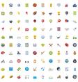 Big Sport icon set vector image