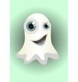 Cartoon ghost vector image