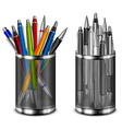 color pens vector image vector image
