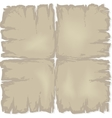 old damaged paper vector image vector image