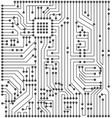 circuit texture digital background engineering vector image