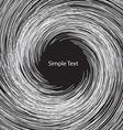 White circle abstract vector image vector image