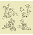 old school tattoo symbols vector image