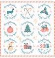 set christmas banners vector image