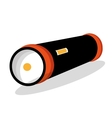 flash light isolated icon design vector image