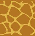 giraffe skin animal texture wallpaper vector image