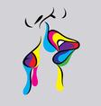Kiss Icon vector image