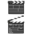 movie clapper stock vector image