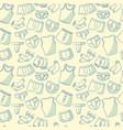 male underwear doodle pattern vector image vector image