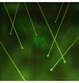 laser green vector image vector image