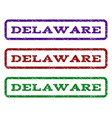 delaware watermark stamp vector image