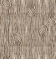 Seamless pattern of ropes with marine knots vector image
