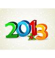 2013 newyear vector image vector image