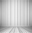 Gray empty room vector image vector image