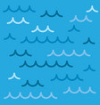 sea waves background pattern of a vector image