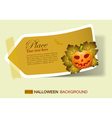halloween invite vector image vector image