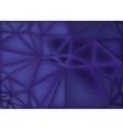 Polygonal abstract background low poly purple vector image