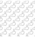 Comics Hand pattern seamless vector image