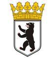 Berlin Coat of Arms vector image