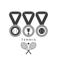 Tennis Award vector image