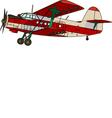 light multipurpose aircraft vector image