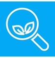 Organic Search vector image