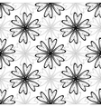 Abstract white seamless pattern vector image