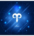 Aries sign of the zodiac vector image