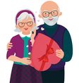 Gift by day of Valentine vector image vector image