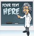 professor genius vector image