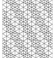 Black and white abstract textured geometric vector image