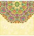 abstract circle floral background vector image