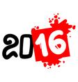 2016 art symbol vector image