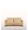sofa furniture item vector image