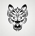 Tribal Demon Face vector image