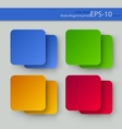 Set of color backgrounds vector image vector image