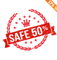 Rubber stamp sale tag - - EPS10 vector image