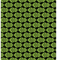 Bright abstract seamless pattern with green arrows vector image vector image