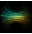 Green smooth wave EPS 8 vector image vector image