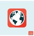 Globe icon isolated vector image