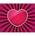 Love Rays Symbol vector image