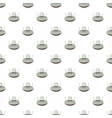 ufo spaceship pattern vector image