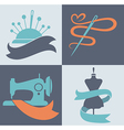 tailor icons vector image