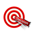 Concept Decision Icon vector image vector image