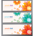 cards set vector image vector image