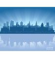 Leeds England skyline vector image