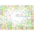 pastel overlapping rounded rectangle background vector image