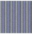 Seamless striped denim vector image